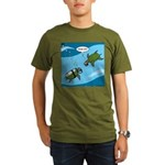 Seaturtle SCUBA Organic Men's T-Shirt (dark)
