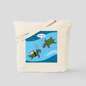 Seaturtle SCUBA Tote Bag