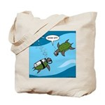 Seaturtle SCUBA Tote Bag