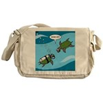 Seaturtle SCUBA Messenger Bag