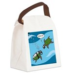 Seaturtle SCUBA Canvas Lunch Bag