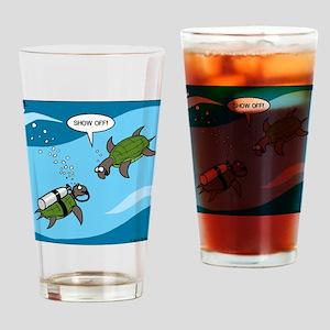 Seaturtle SCUBA Drinking Glass