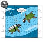 Seaturtle SCUBA Puzzle