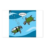 Seaturtle SCUBA Postcards (Package of 8)
