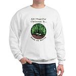 Xmas Peas on Earth Sweatshirt