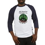 Xmas Peas on Earth Baseball Jersey