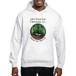Xmas Peas on Earth Hooded Sweatshirt