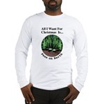 Xmas Peas on Earth Long Sleeve T-Shirt