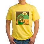 Shark Favorite Book Yellow T-Shirt