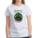 Xmas Peas on Earth Women's T-Shirt