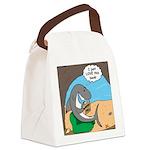 Shark Favorite Book Canvas Lunch Bag