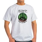 Xmas Peas on Earth Light T-Shirt