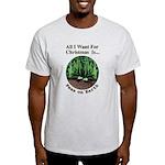 Xmas Peas on Earth Light T-Shirt