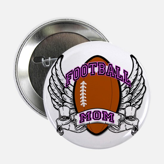 "Football Mom 2.25"" Button"