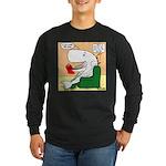 Whale Favorite Book Long Sleeve Dark T-Shirt