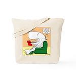 Whale Favorite Book Tote Bag