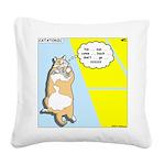 Catatonic Square Canvas Pillow