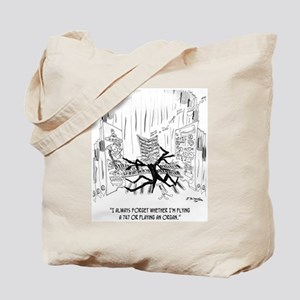 Playing an Organ or Flying a 747? Tote Bag