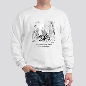 Playing an Organ or Flying a 747? Sweatshirt