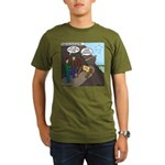 Trail Closed Organic Men's T-Shirt (dark)