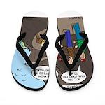 Trail Closed Flip Flops