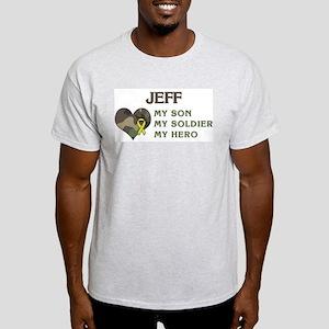 Jeff: My Hero Ash Grey T-Shirt