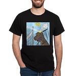 T-Rex Volleyball Dark T-Shirt