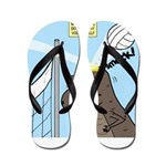T-Rex Volleyball Flip Flops