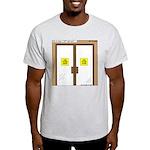Closing a Mini-Mart Light T-Shirt