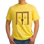 Closing a Mini-Mart Yellow T-Shirt