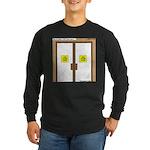 Closing a Mini-Mart Long Sleeve Dark T-Shirt