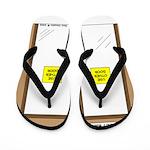 Closing a Mini-Mart Flip Flops