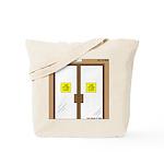 Closing a Mini-Mart Tote Bag