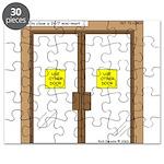 Closing a Mini-Mart Puzzle