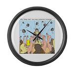Viking Graduation Large Wall Clock