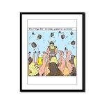 Viking Graduation Framed Panel Print