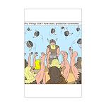 Viking Graduation Mini Poster Print