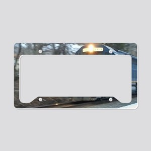 Railfan Nation Picture License Plate Holder