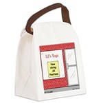 Yoga Now Hiring All Positions Canvas Lunch Bag
