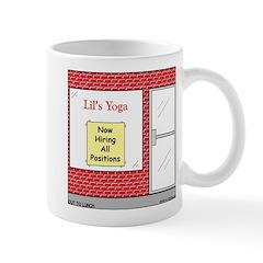 Yoga Now Hiring All Positions Mug