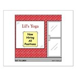 Yoga Now Hiring All Positions Small Poster