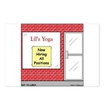 Yoga Now Hiring All Positions Postcards (Package o