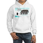 Penguin Mothers Day Hooded Sweatshirt