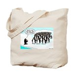 Penguin Mothers Day Tote Bag