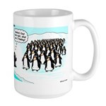 Penguin Mothers Day Large Mug