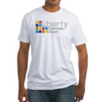 Liberty Logo Fitted T-Shirt (white)
