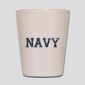 NAVY Digi Camo Shot Glass