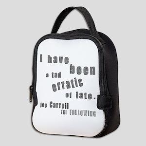 Joe Tad Erratic Neoprene Lunch Bag