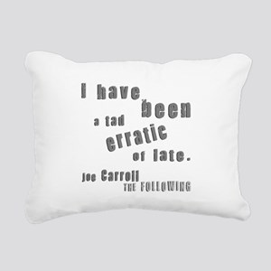 Joe Tad Erratic Rectangular Canvas Pillow