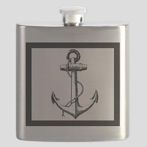 Ship Anchor Flask